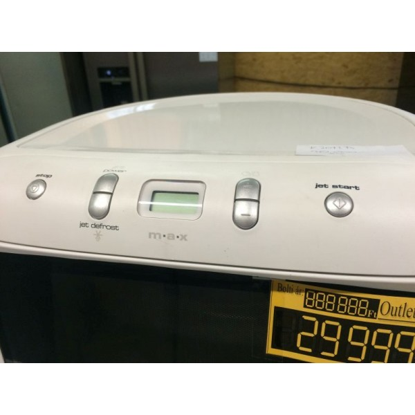 Whirlpool 13 literes mikrohullámú sütő szépséghibás