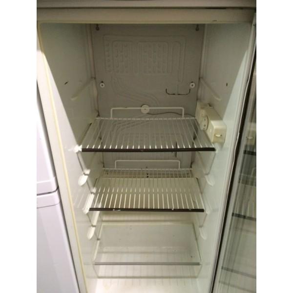 Üvegajtós használt akciós hűtőszekrény