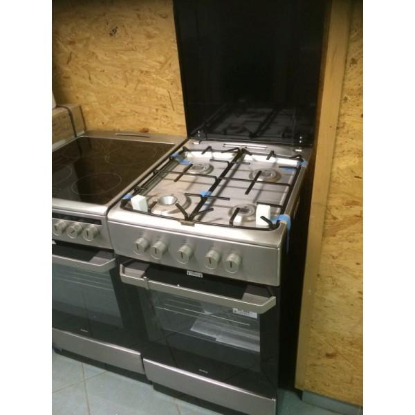 Amica 55347 ezüst-fekete akciós gáztűzhely 2 év garanciával!