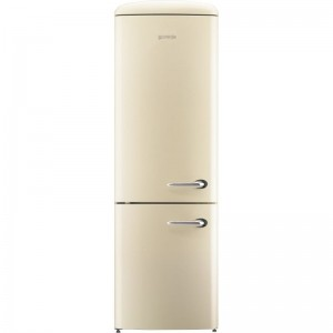 Gorenje ORK193C szépséghibás A+++ retro kombinált hűtő