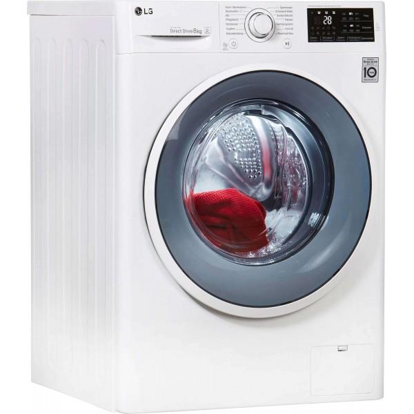 LG F14WM8ENO szépséghibás inverteres A+++ 8kg 1400 ford. elöltöltős mosógép