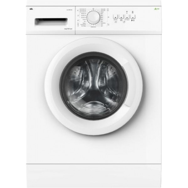 OK W 6100A2 csomagolássérült A++ elöltöltős mosógép 2 év gar