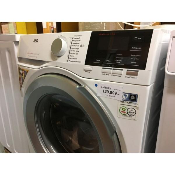 AEG L6FB67490 szépséghibás 9kg A+++ 1400 ford. inverteres elöltöltős mosógép
