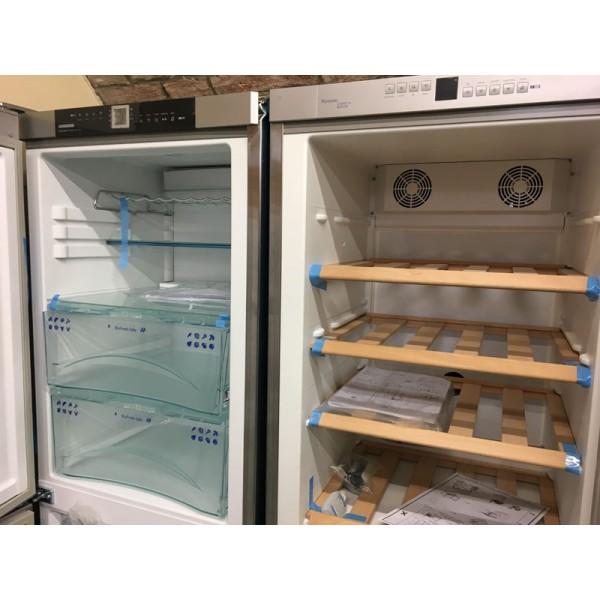 Liebherr SBNES3210 szépséghibás SBS hűtőszekrény A++ No Frost borhűtővel