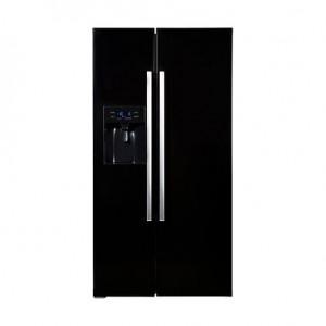 Hanseatic HSBS 17990 WEA1BK szépséghibás A+ Side by Side hűtőszekrény