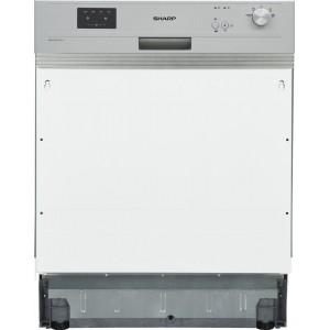 Sharp QW-GX13S4 új szépséghibás beépíthető mosogatógép